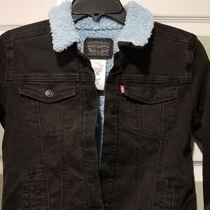 Big girls Levi's Skyler Black denim jacket